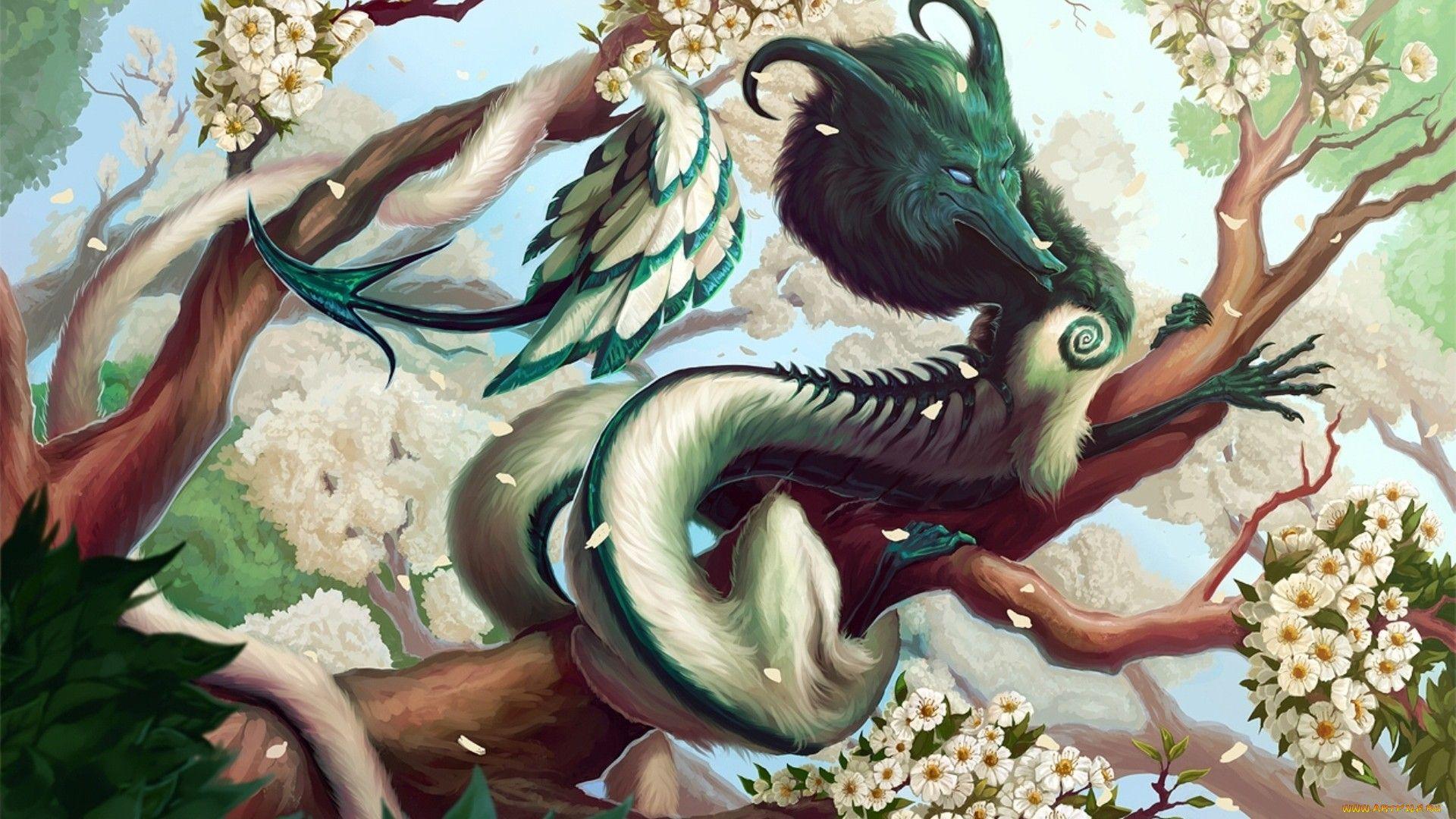 fantasy dragon white china god serpent 3d chinese ritual