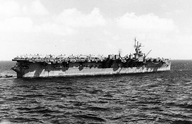 World War II: USS Langley (CVL-27)