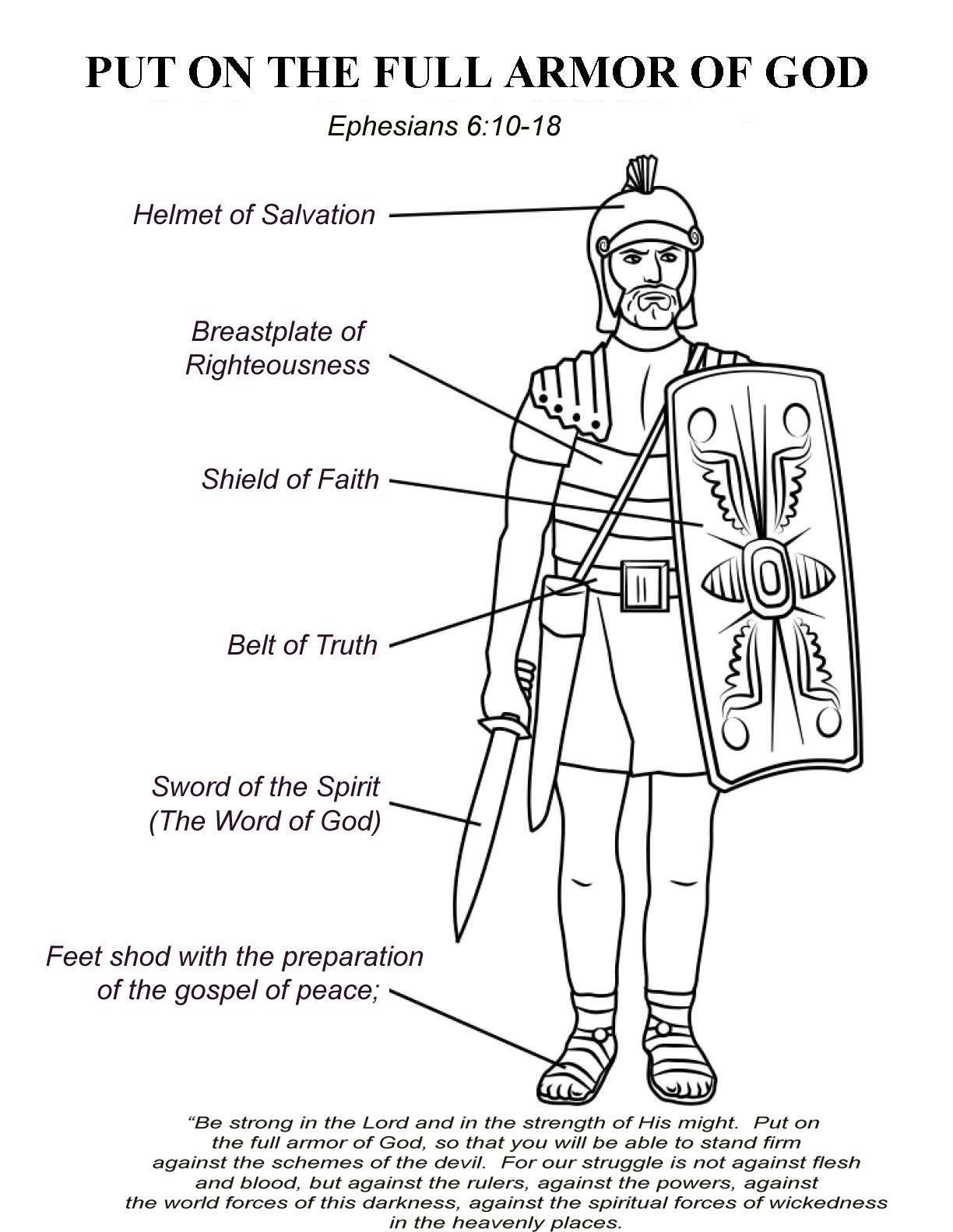 Ephesians 6 10 17 The Armor Of God