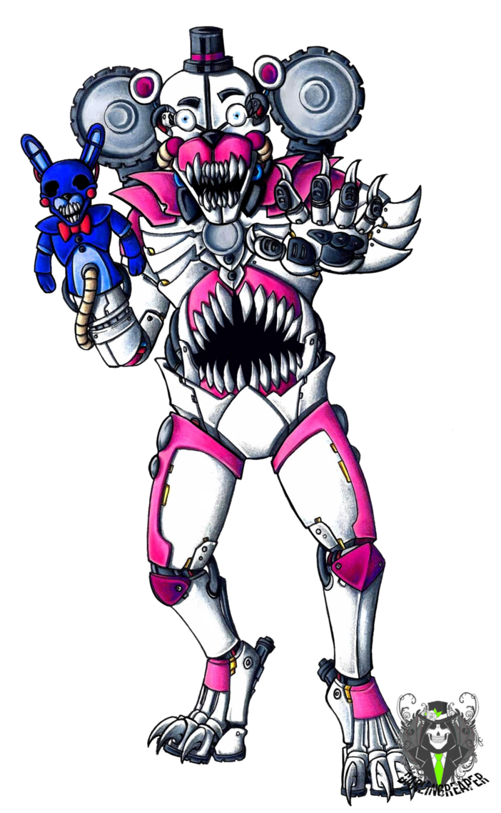 Done Okay Funtime Freddy Use A Weapon Called Sonic Nbsp And Ultrasonic Weapon Nbsp Usw This Weapon Nbsp Of Vario Fnaf Characters Fnaf Drawings Anime Fnaf