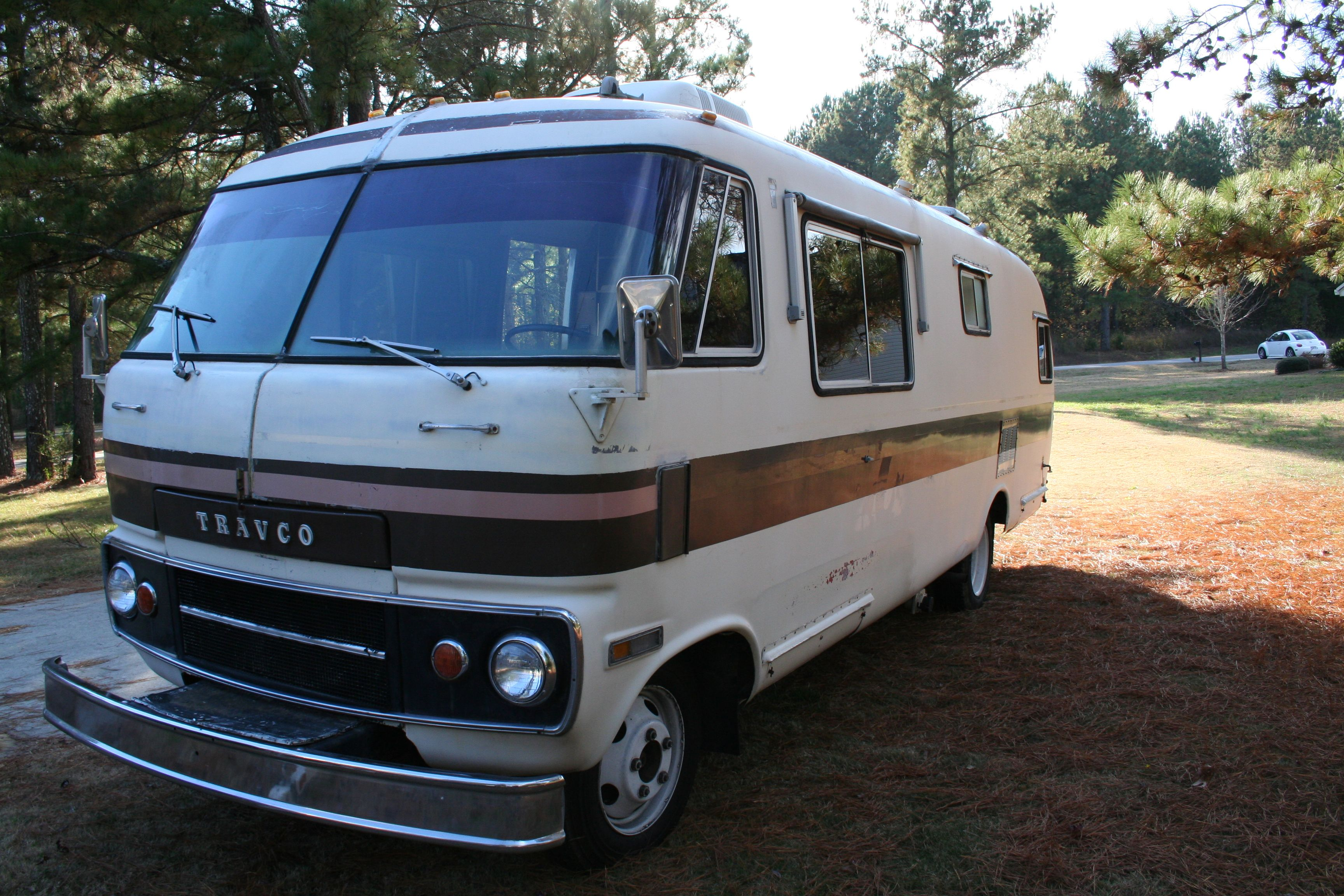 Nessie, our 1976 Dodge Travco Motorhome  | cars i have owned