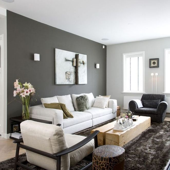 84 what you need to do about dark grey couch living room 7 - What do you need to paint a room ...