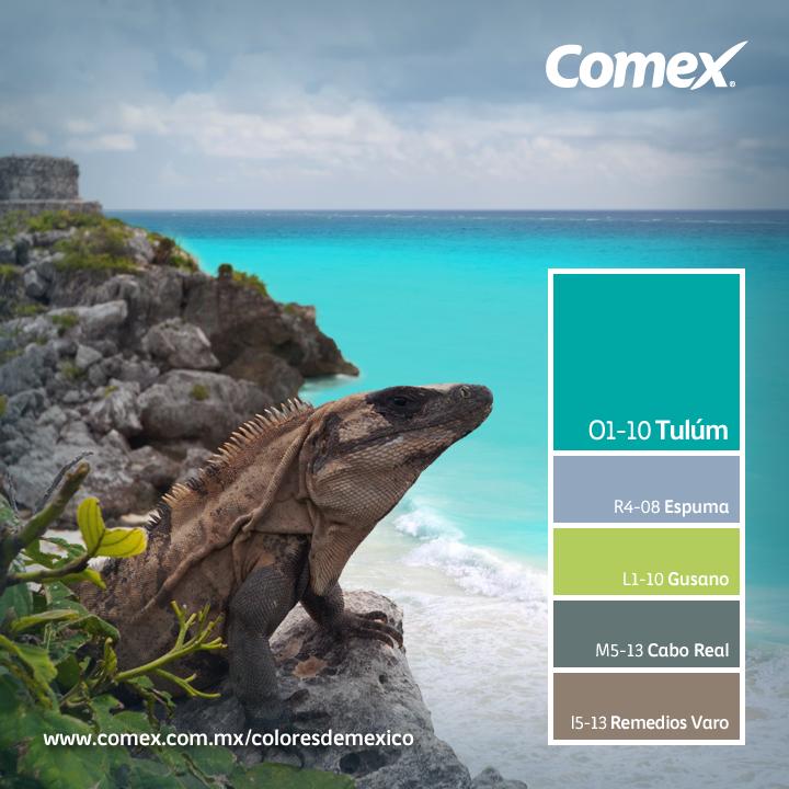 Comex / tulum, sin duda representando la belleza natural de ...