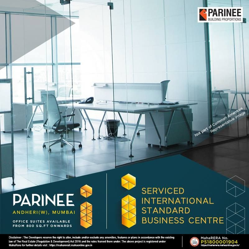 Today S Landmark Tomorrow S Milestone Parinee I Stand A Class Apart Visit The All New Look Of Www Parinee Com Parineerealty Pari Office Suite Building Real Estate