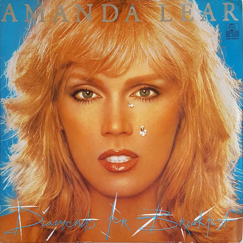 Amanda Lear Diamonds For Breakfast 1980 Ariola 201 265 Disco Pop Lp Vg Vg Amanda Disco Pop Vinyl