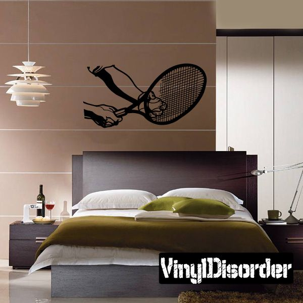 Tennis Wall Decal - Vinyl Decal - Car Decal - Bl029 & Tennis Wall Decal - Vinyl Decal - Car Decal - Bl029 | Car decal ...