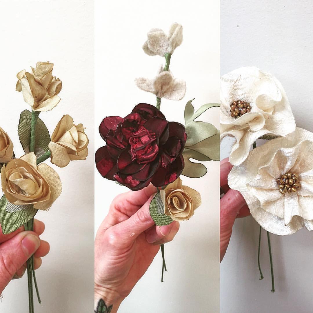 Alternative Floral Art - Alternative Wedding Bouquet - Wedding Bouquet  - www.hanawillowdesign.com