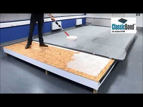 Learn How to install a Classicbond One Piece EPDM flat ...