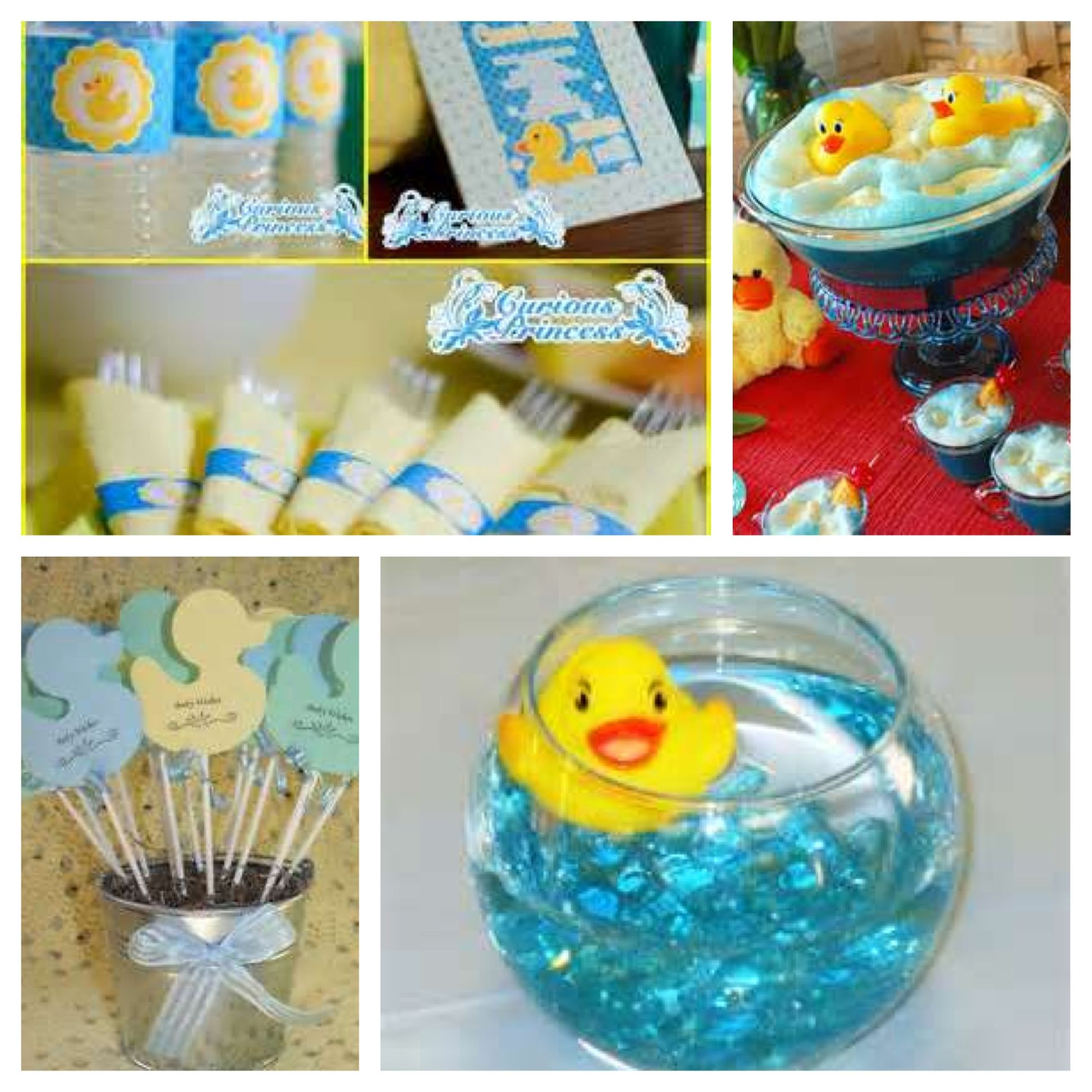 Duck theme baby shower #timelesstreasure