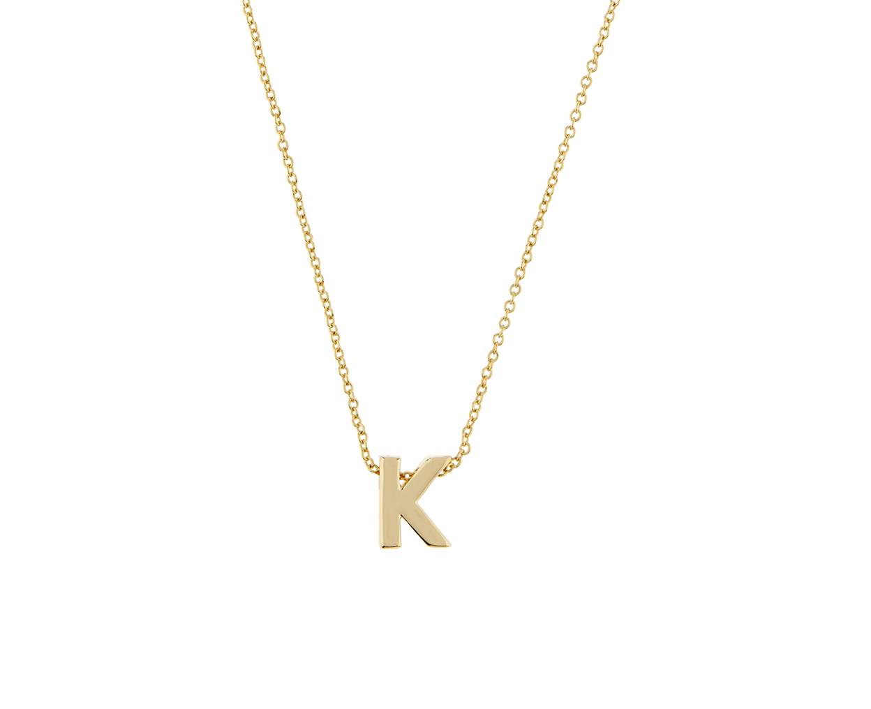 Initial k pendant necklace accessorize embellish your look with initial k pendant necklace accessorize embellish your look with a personal touch with our gold plated initial necklace the eye catching design aloadofball Image collections