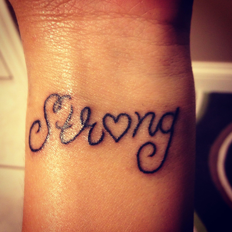 My Tattoo I Got On My 18th Birthday On My Wrist!