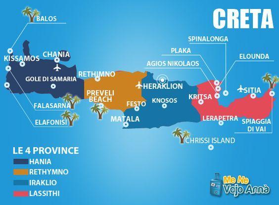 Dove alloggiare a Creta, informazioni per organizzare la vostra ...