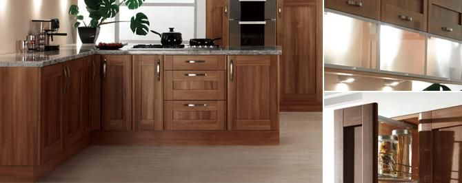 Kitchen Cabinets Ideas walnut shaker kitchen cabinets : Walnut Shaker Kitchen Cabinets