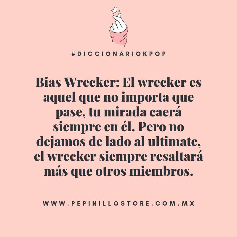 Bias Wrecker Diccionario Kpop Palabras Coreanas Diccionario Palabras