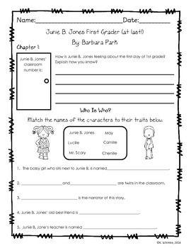junie b first grader at last pdf