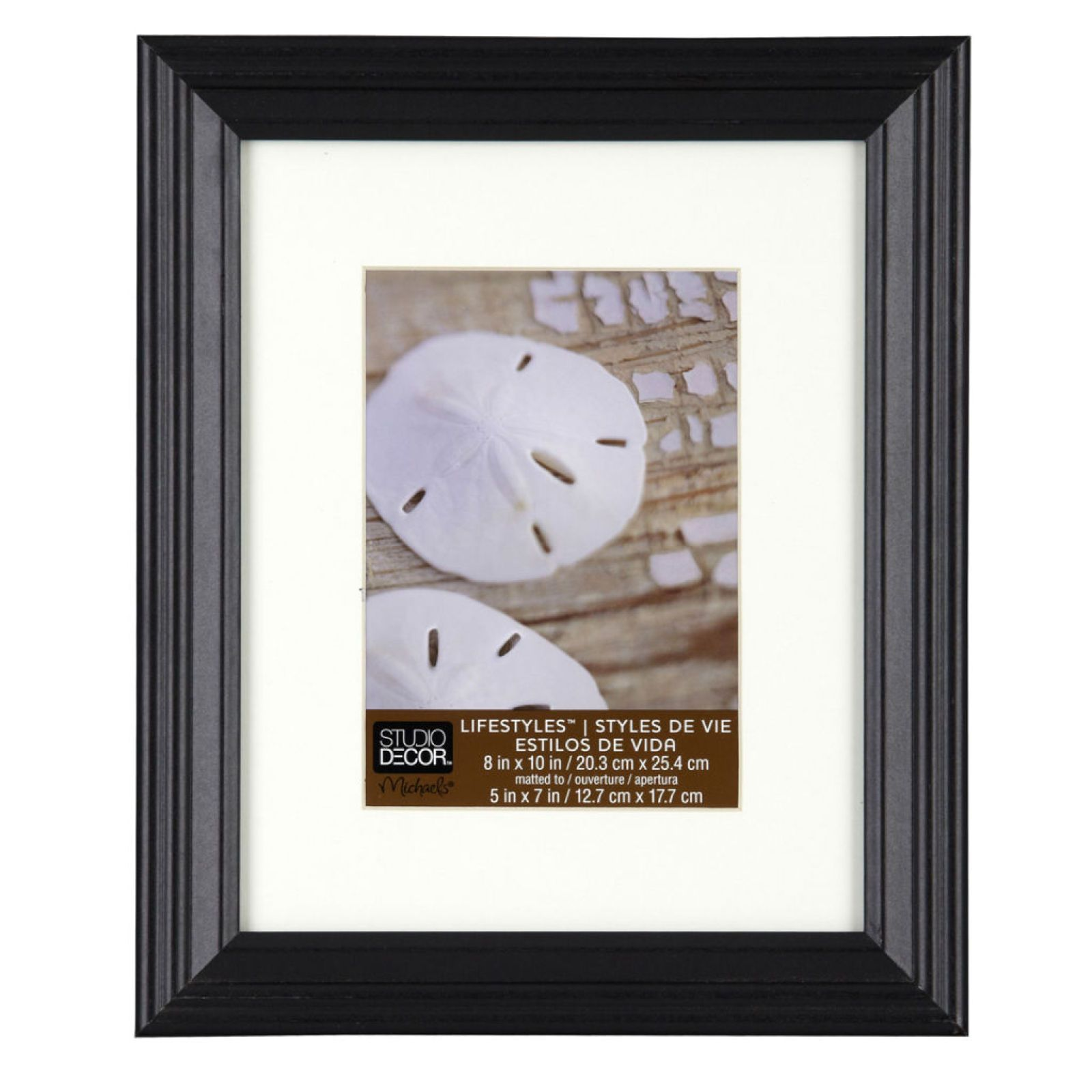 Black Frame With Mat Lifestyles By Studio Decor Studio Decor White Picture Frames Frames On Wall