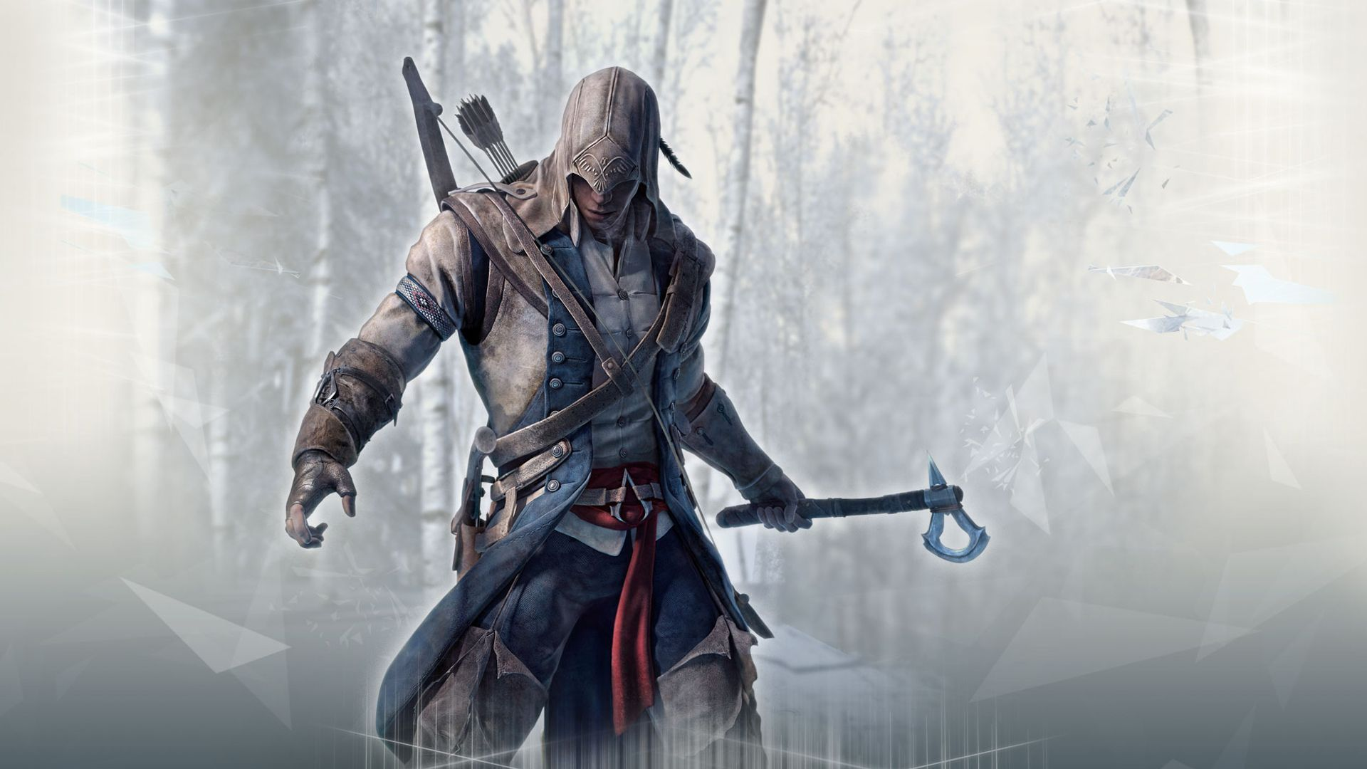 Connor kenway assassin039s creed iii wide wallpaper 24915g assassins creed connor wallpaper by sprinklesprankles on voltagebd Choice Image