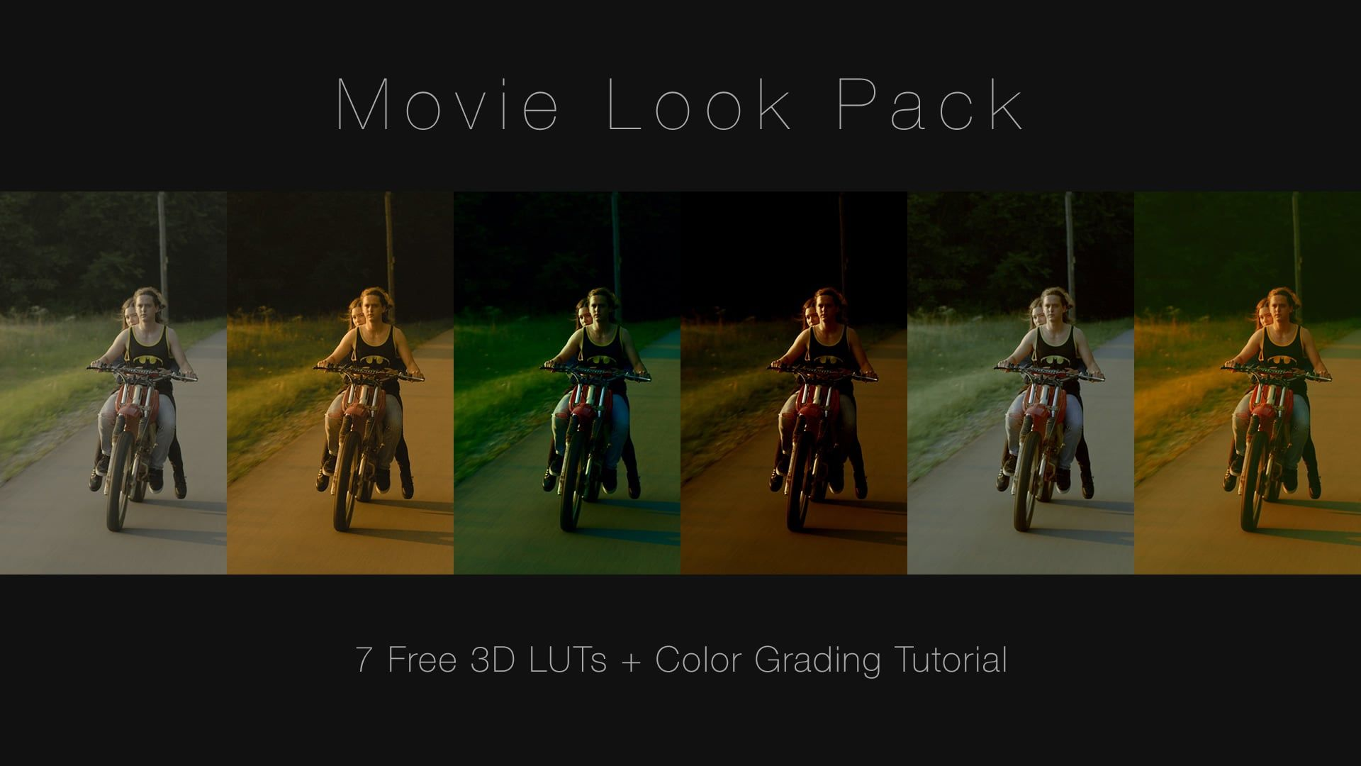 Free Movie Looks (3D LUT) Download + DaVinci Resolve