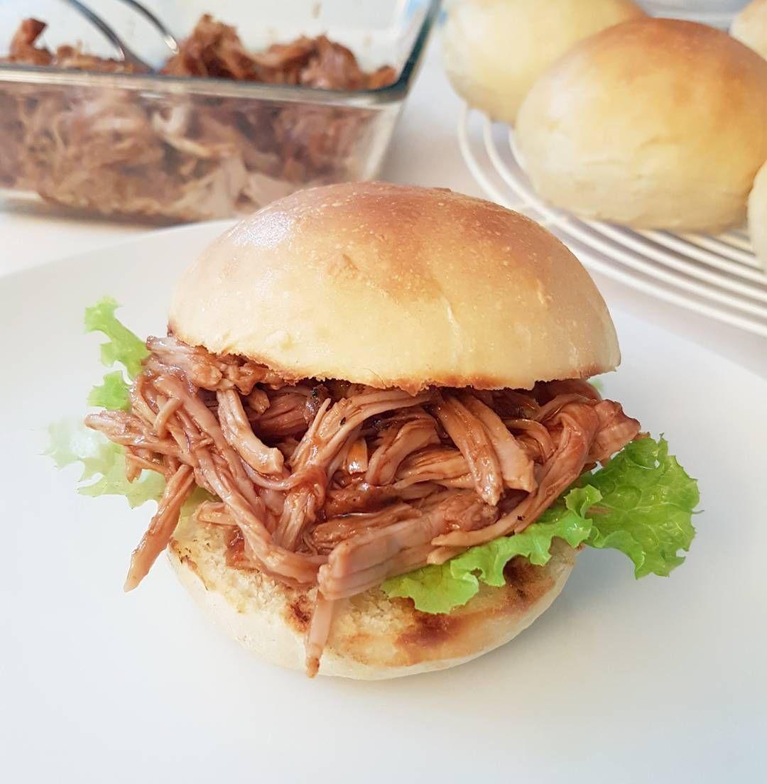 Marlene's sweet things: Die fluffigsten Hamburgerbrötchen - Burger Bun