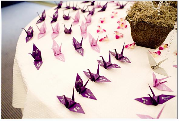 Origami Escort Cards | 398x590
