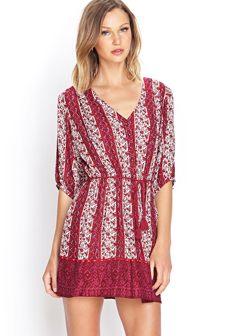 Boho-Inspired Shirt Dress | FOREVER21 #SummerForever | dresses ...