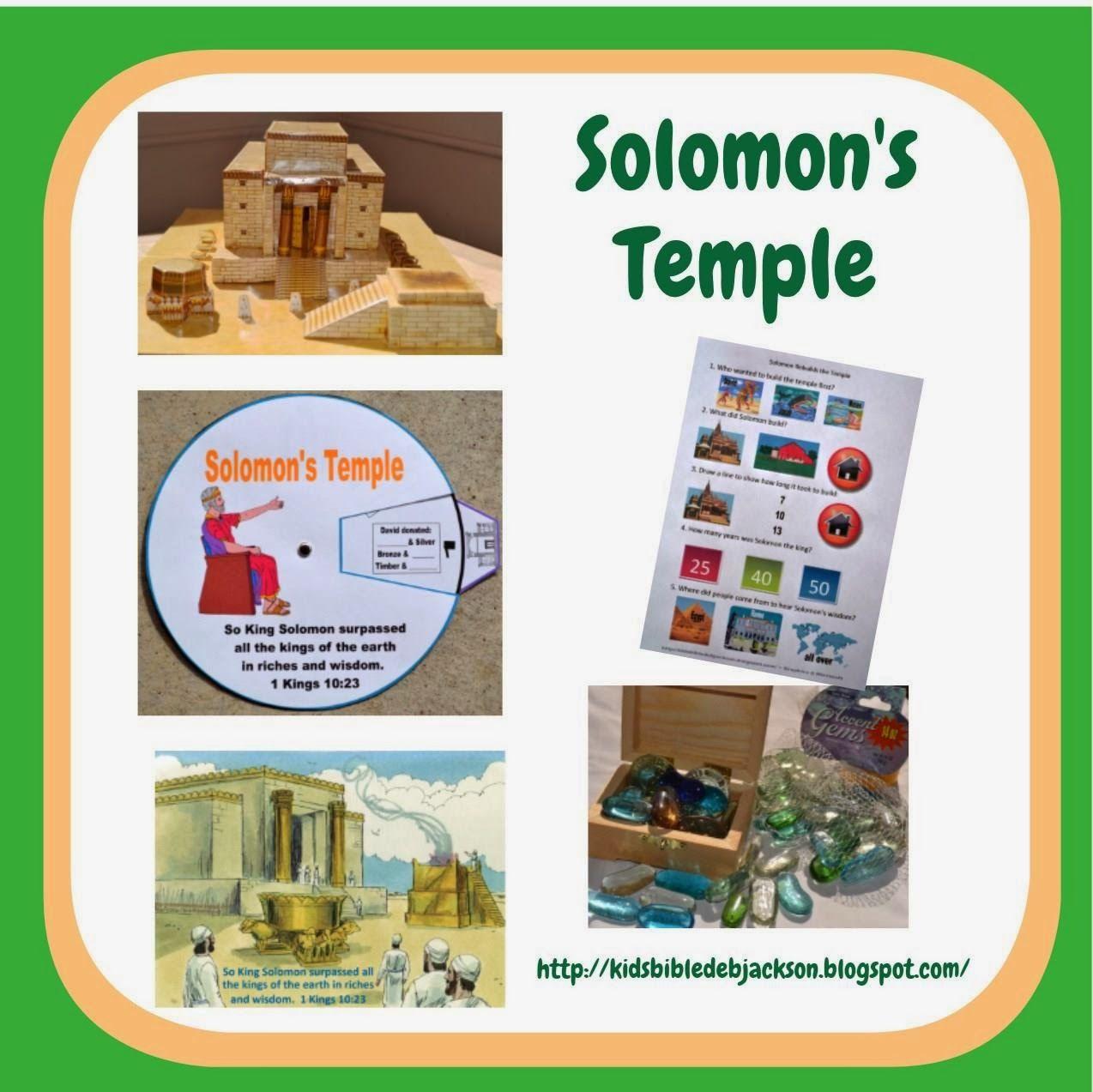 Solomon Rebuilds The Temple Bible