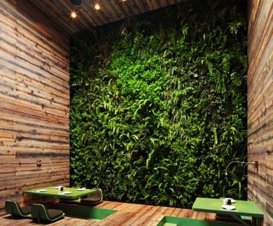 Elegant Rojkind Arquitectosu0027 Tori Tori Restaurant Has A Green Wall And A Funky  Organic Facade