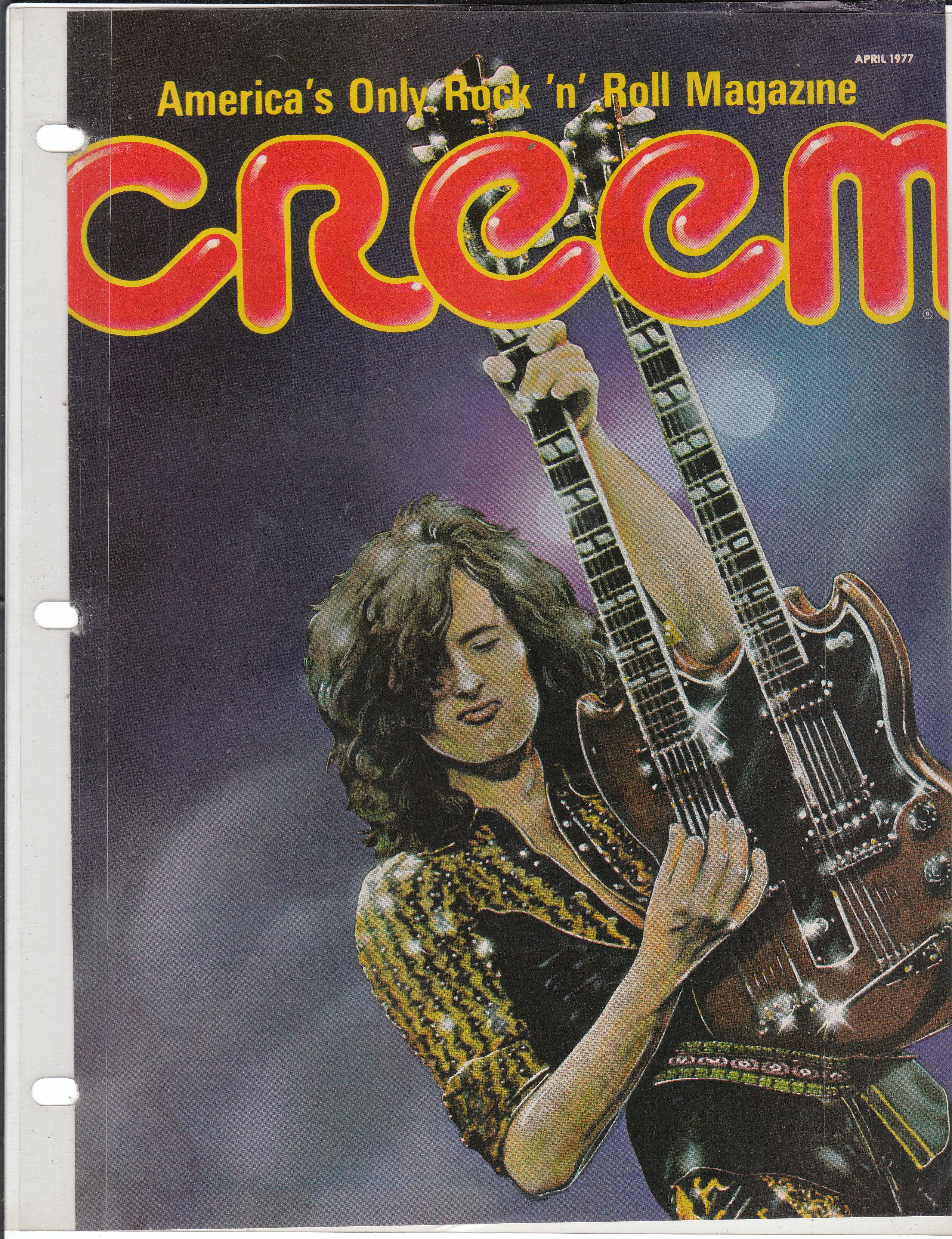 Jimmy Page creem magazine LED ZEPPELIN Pinterest