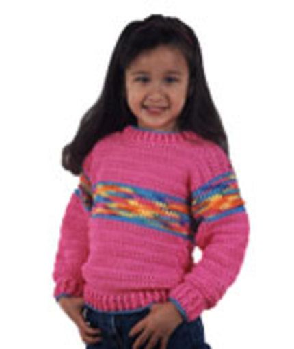 Free Crochet Sweater From Red Heart But Different Colors Crochet