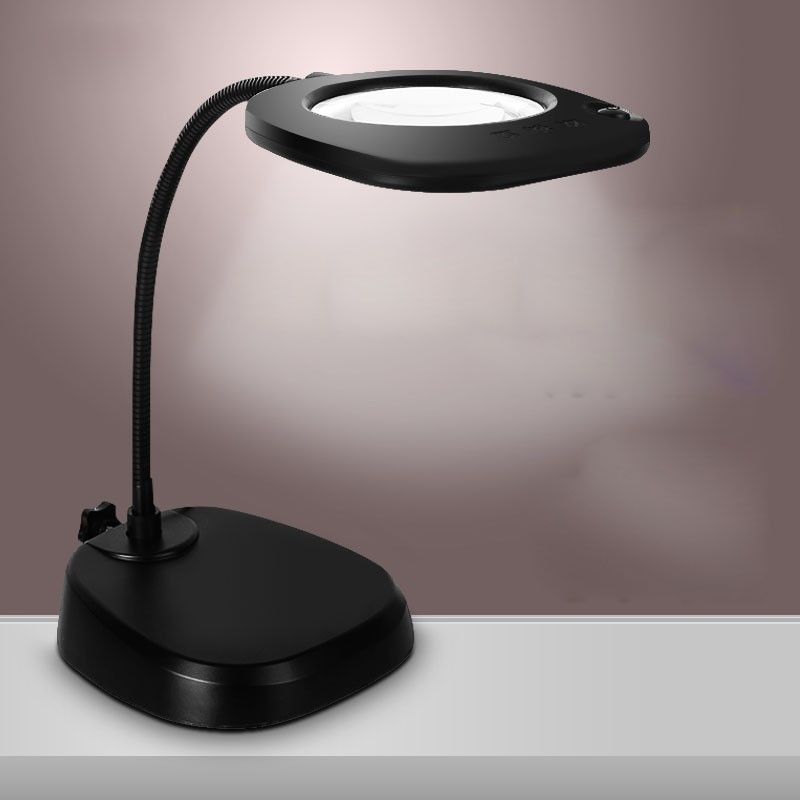 Magnifying Glass Lamp Stand Lamp Magnifying Desk Lamp