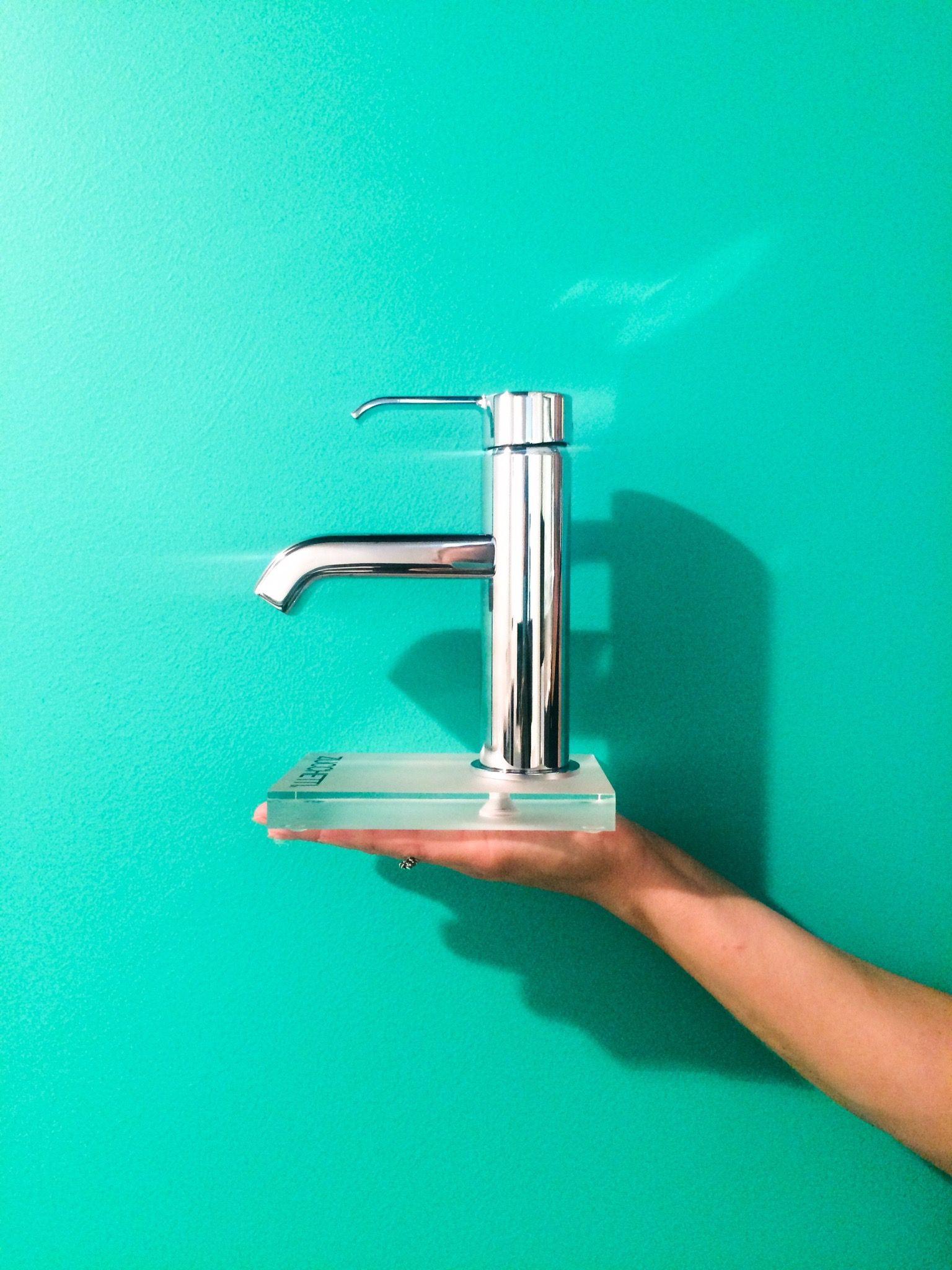 ON! Tapware range from Zucchetti Bathroom fixtures