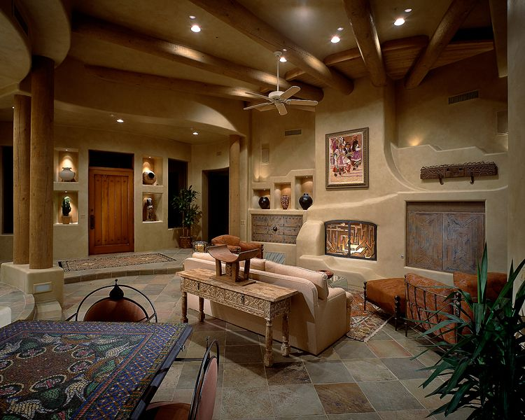 Janet Brooks Design Scottsdale Az Luxury Interior This E Was Designed For The Display Of Santa Fe Art