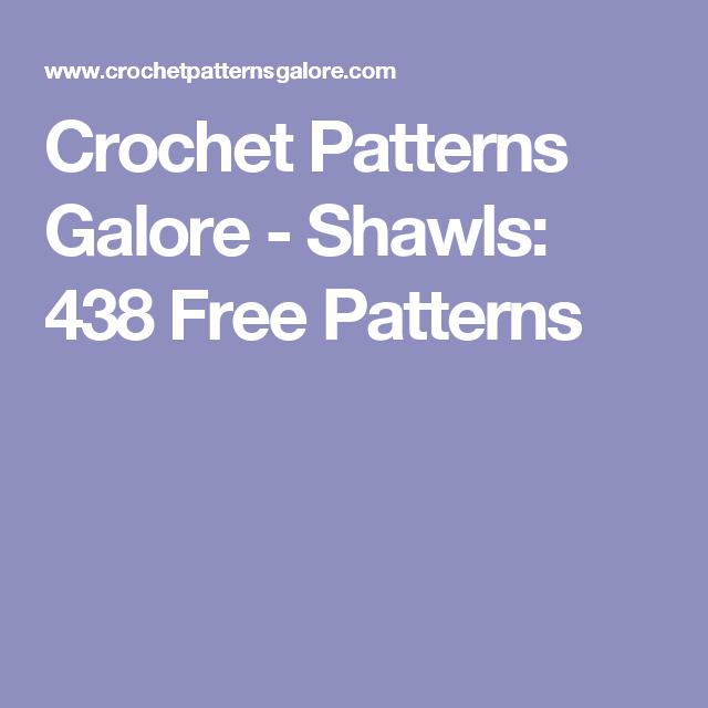 Crochet Patterns Galore - Shawls: 438 Free Patterns | crochet ...