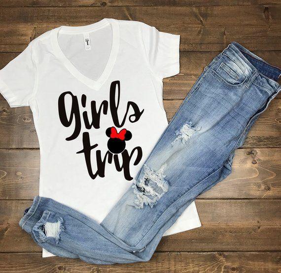Girls Trip Disney Shirt Disney Shirt For Girls Disney Rose Gold