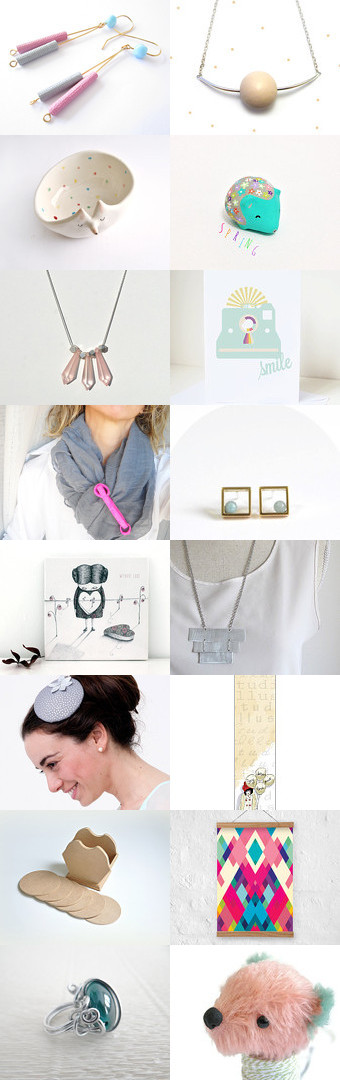 Welcome Spring by Maria Anastasiadou on Etsy--Pinned with TreasuryPin.com