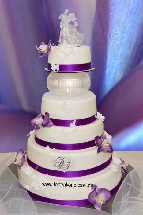 Hochzeitstorte 37 f nfst ckig mit oder ohne zwischenkugel gr e der einzelnen torten im - Moderne hochzeitstorten ...