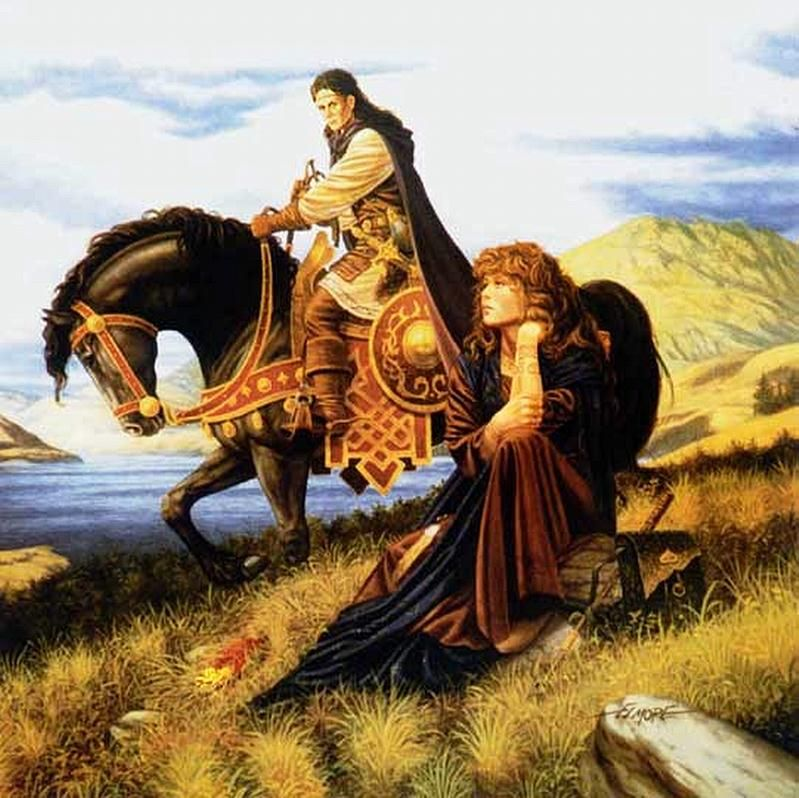 karita - by Larry Elmore   Featured Artist on the Fantasy Gallery