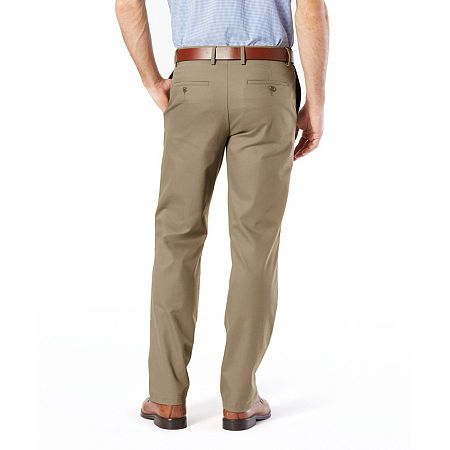 Dockers Mens Straight Fit Signature Khaki Pant D2
