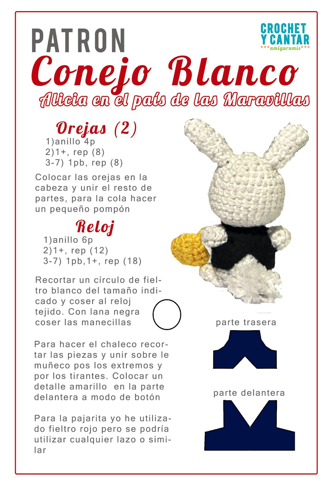 Crochet y Cantar | Free Pattern Amigurumi | Pinterest | Amigurumi ...