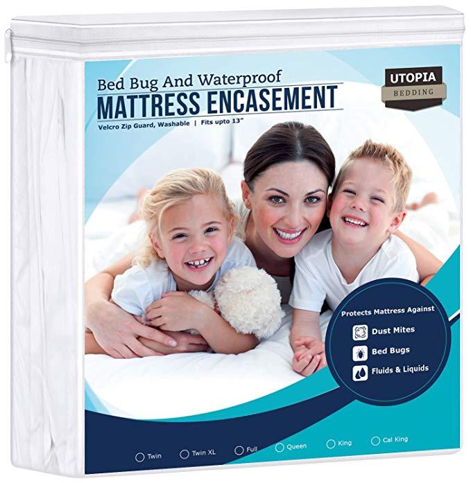 2 twins, 1 full in 2020 Mattress encasement, Waterproof