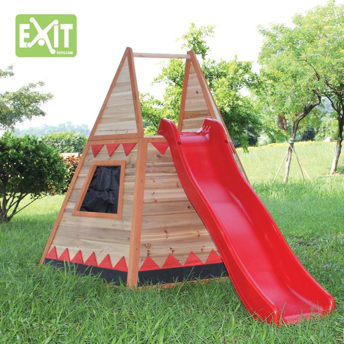 exit kinder spielhaus tipi tree house pinterest kid garden and gardens. Black Bedroom Furniture Sets. Home Design Ideas