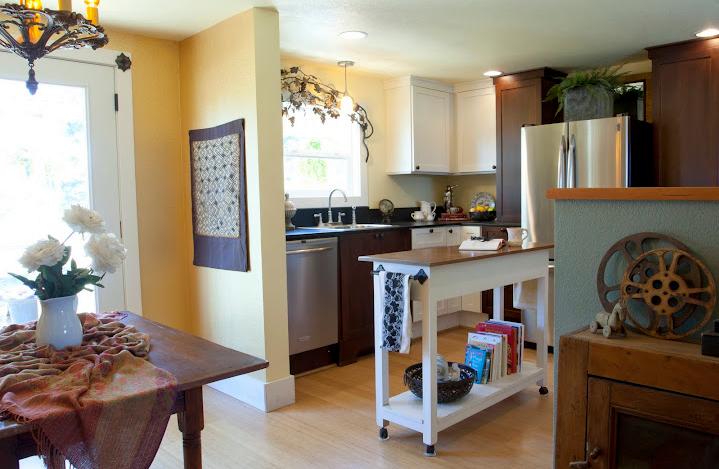 Interior Designer Remodels Double Wide Mobile HOme Kitchen Home Mobile Hom