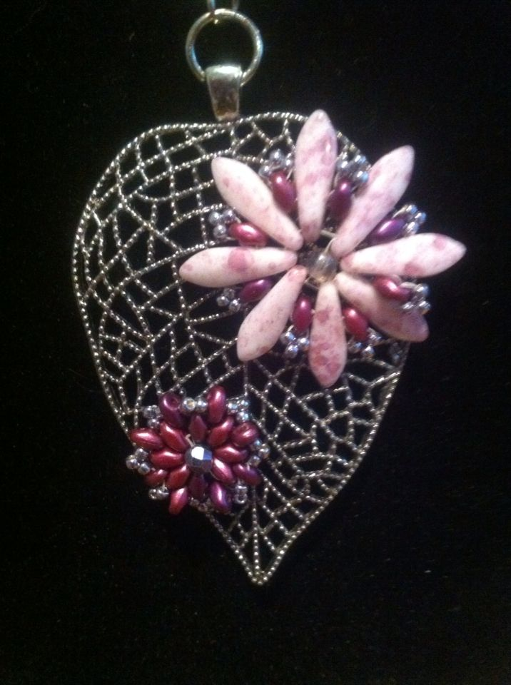 super duos, daggers and seed beads