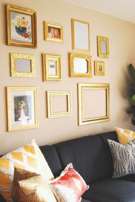 Better Homes and Gardens - I made a wall like this in my home ...