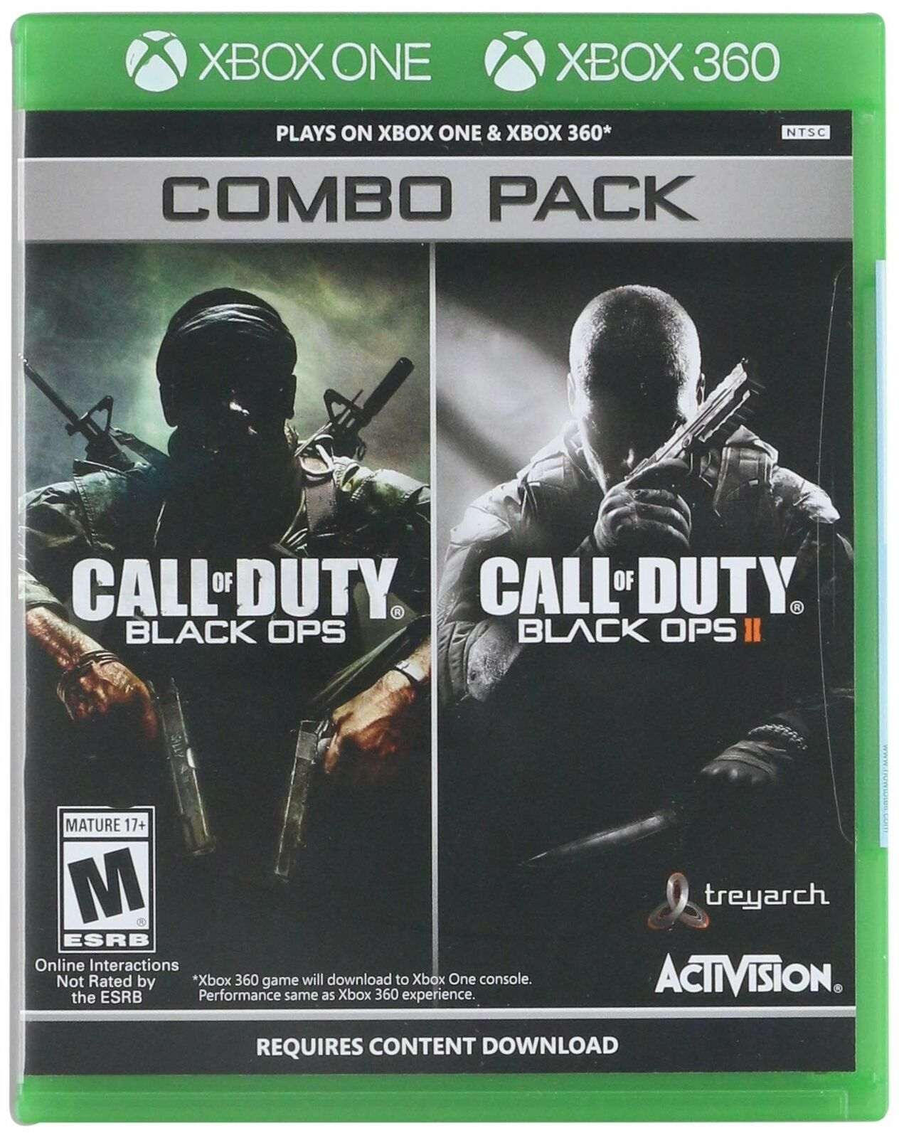 Call Of Duty Black Ops 1 2 Combo Pack Xbox 360 Xbox One Brand New 47875881723 Ebay Black Ops 1 Black Ops Xbox
