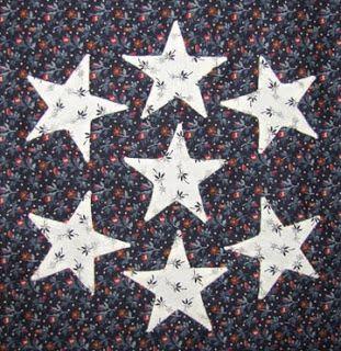 Civil War Quilts, Seven Sisters representing Confederate States