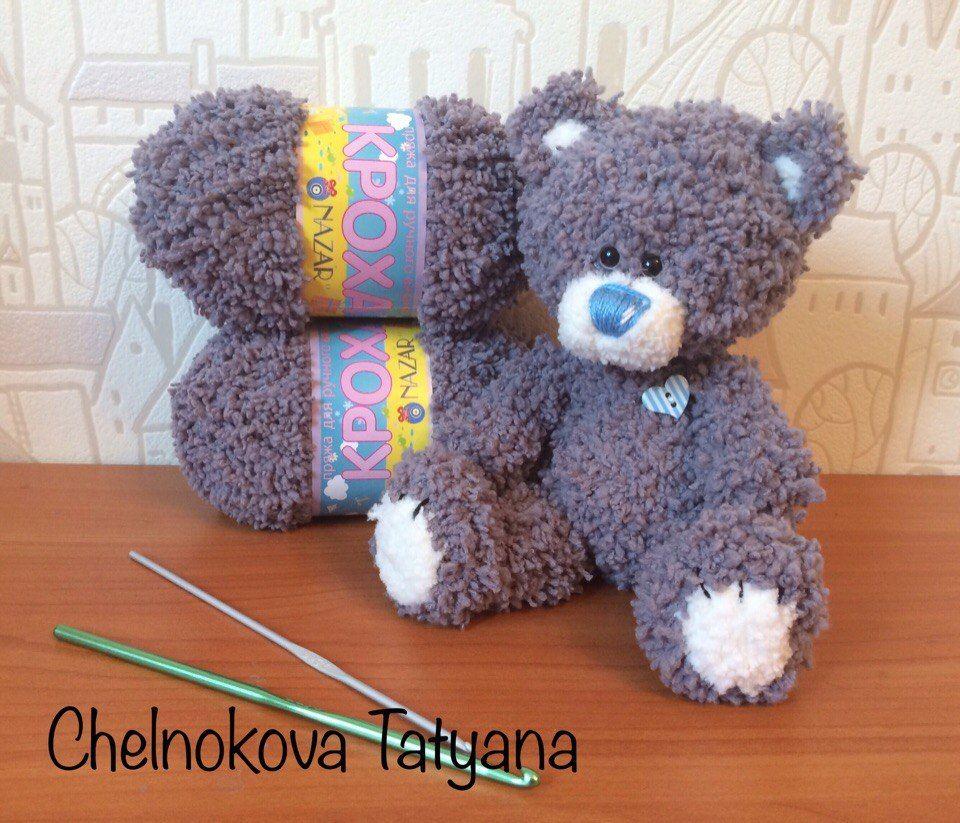 Схема вязания игрушки мишки фото 112