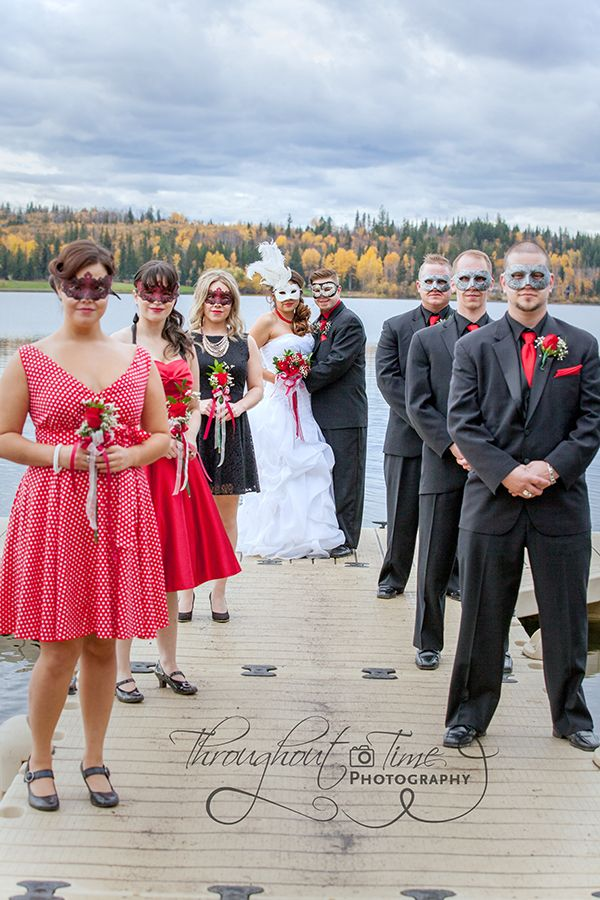 Colby And Chloe Masquerade Wedding Bridesmaids Photos Bride