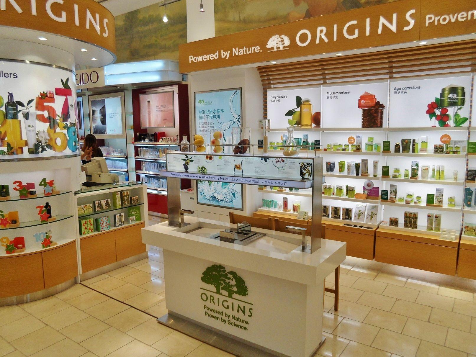 Origins Cosmetics Counter Skin Care Pinterest