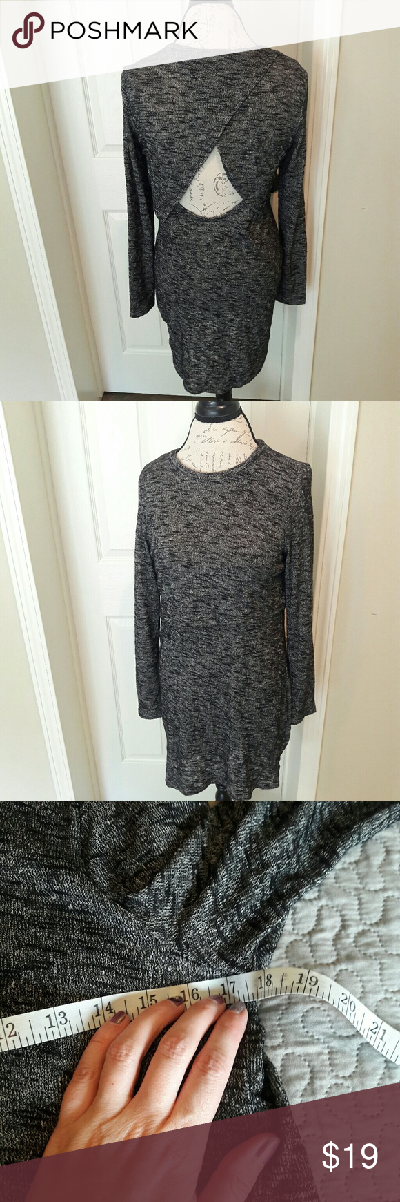divided hum cut out back dress in awesome condition